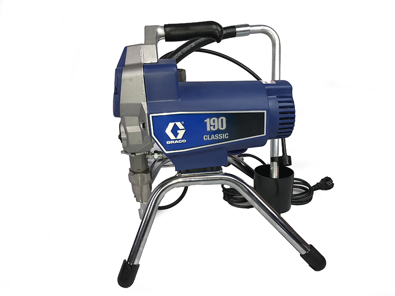 Duct cleaning airless pump